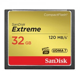 SanDisk 32GB CF Extreme 120MB
